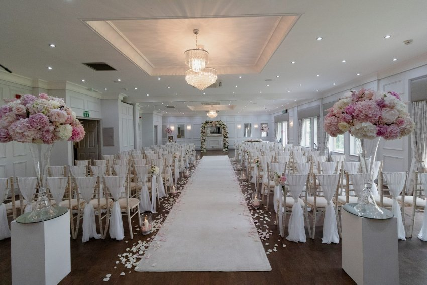 Wedding Ceremony at Burnham Beeches Hotel