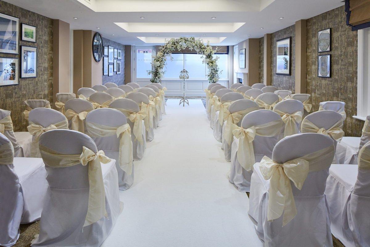 Inside Civil Wedding Ceremony