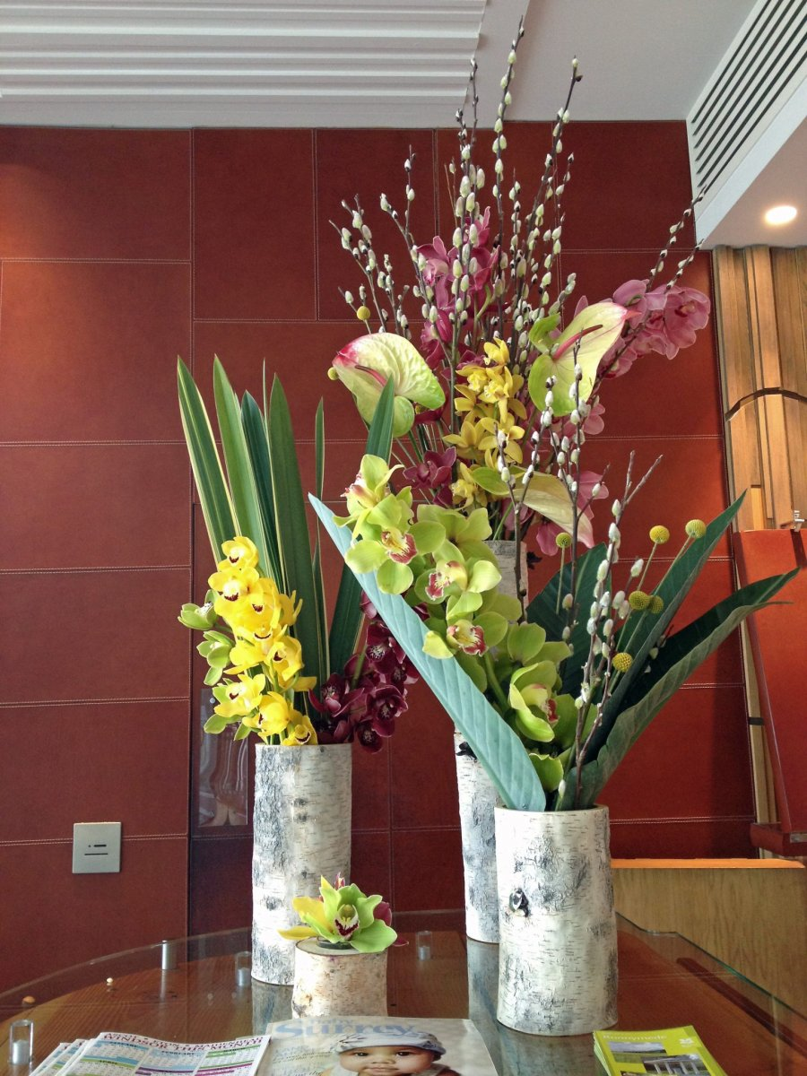 Front of House Flowers