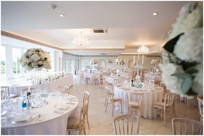 Wedding Reception at Froyle Park