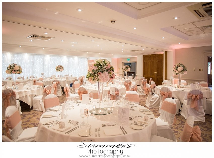 Wedding Reception at Oakley Court Hotel