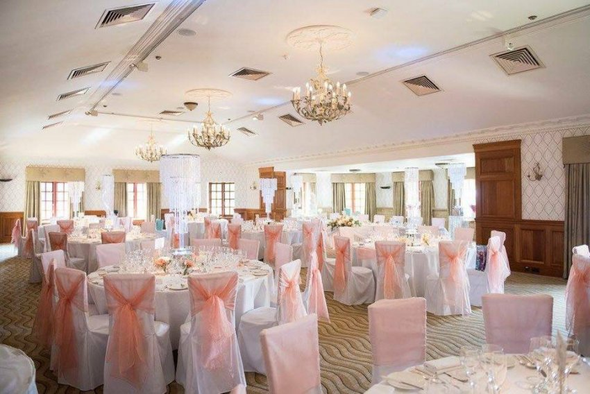 Wedding Reception at Pennyhill Park