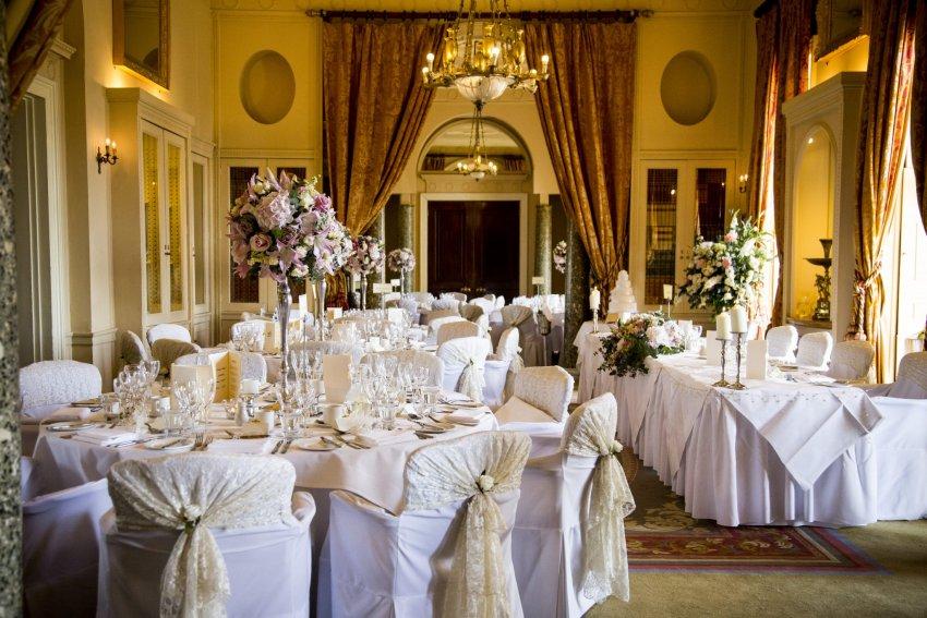 Wedding Reception at Stoke Park