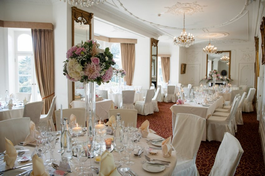 Wedding Reception at Taplow House Hotel