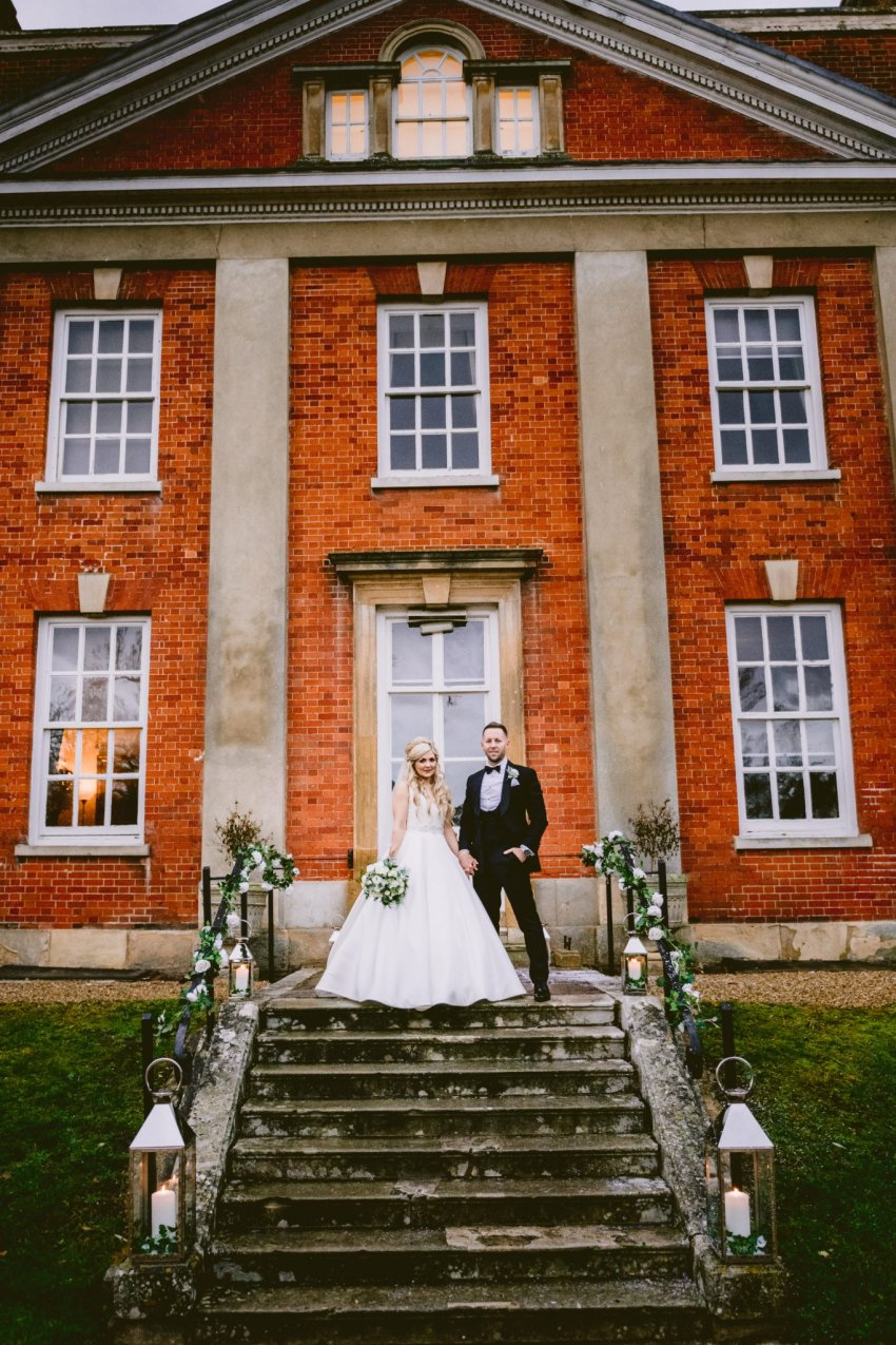 Warbrook House exterior wedding