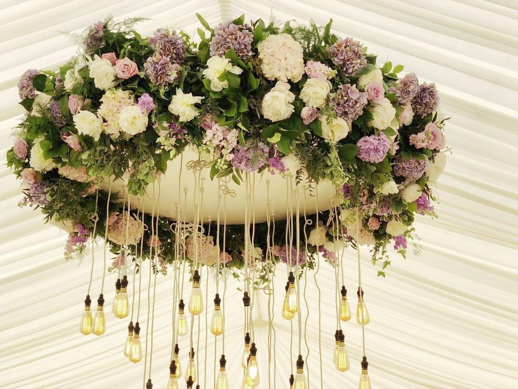Floral Chandelier