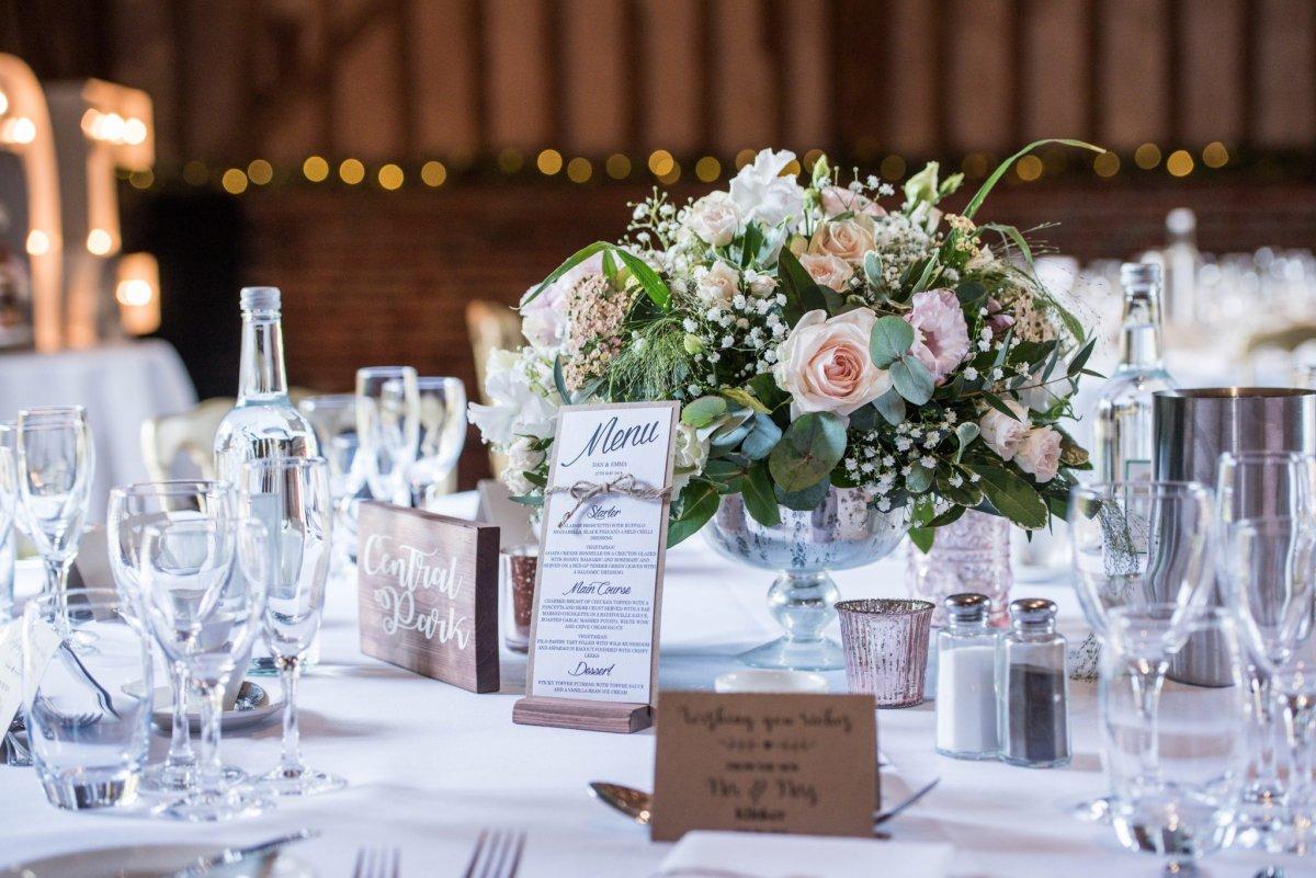 Bespoke Table Flower Display