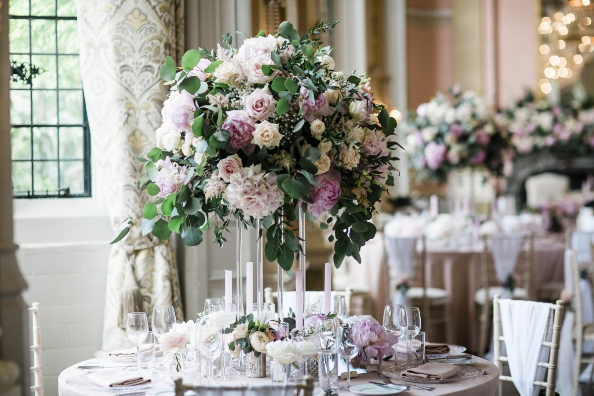 Wedding Table Floral Centrepiece