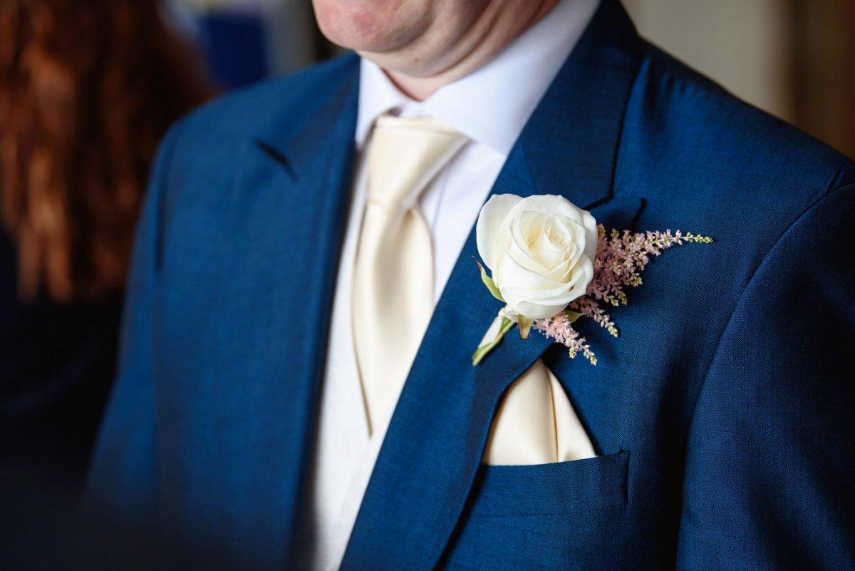 Groomsman buttonhole